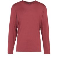 Icebreaker Men's Merino 200 Oasis Long Sleeve Baselayer Top, Red/DRD