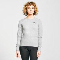 Odlo Women's ACTIVE WARM ECO Long-Sleeve Baselayer Top, Grey/GRY