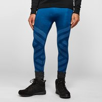 Odlo Mens Natural + Kinship Baselayer Leggings, Blue/BLU