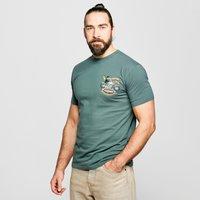 Weird Fish Men's MotorPike T-Shirt, Green