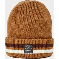 Protest Men's Chunky Beanie, Brown/Beige