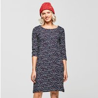 Weird Fish Womens Starshine Dress, NAVY/NAVY