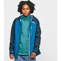 Regatta Womens Birchdale Waterproof Jacket - Blue/Mbl, Blue/
