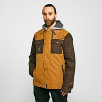 Protest Men's Austin Ski Jacket, Brown/BRN