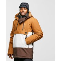 Protest Men's Backflip Anorak Ski Jacket, Brown/BRN