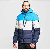 Protest Men's Blur Puffer Ski Jacket, Blue/MBL