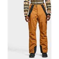 Protest Men's Owens Snow Pant, Orange/BRN