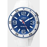 Limit Active Analogue Sports Watch, White
