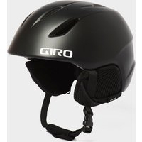 GIRO Kids' Launch Snow Helmet, Black/BLK