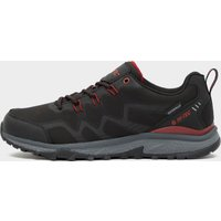 Hi Tec Men's Cyclone Waterproof Shoes, Black/Red