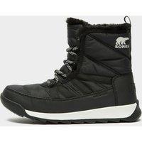 Sorel Women's Whitney II Short Lace Boot, Black/White