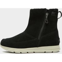 Sorel Women's Explorer Zipped Boot, Black/BLK