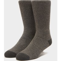 Heat Holders Men's Lite Twist Socks, BROWN/BROWN