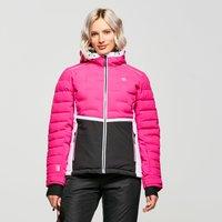 Dare 2B Womens Vividly Waterproof Insulated Ski Jacket, Pink