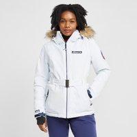 Ellesse Womens Colledge Ski Jacket - White/Jkt, White/JKT