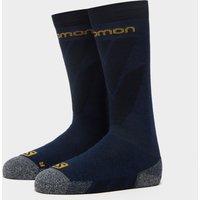 SALOMON SOCKS Men's Access Ski Socks, Navy