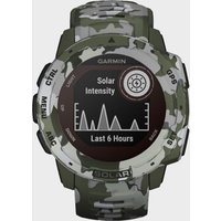 Garmin Instinct GPS Watch, Multi/Green