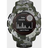 Garmin Instinct GPS Watch, Multi Coloured/Green