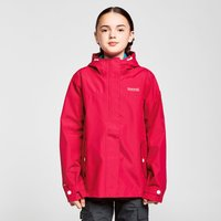Regatta Kids' Bibiana Waterproof Jacket, PNK/PNK