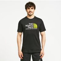 The North Face Mens Short Sleeved Rust 2 T-Shirt - Black/Black, Black/Black