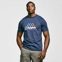 Berghaus Mens Peak Fusion Grid T-shirt  Navy