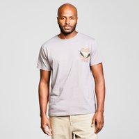 Weird Fish Mens Batclam T-Shirt - Grey/Gry, Grey/GRY