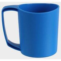 Lifeventure Ellipse Plastic Camping Mug - Blue, Blue
