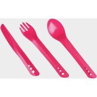 Lifeventure Lellipse Cutlery Set - Pink, Pink