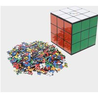 Gibsons Rubiks Cube Jigsaw Puzzle, Multi Coloured