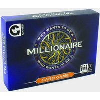 WIND DESIGNS Who Wants to be a Millionaire Card Game, Multi/Multi