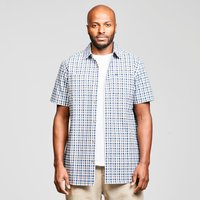 Craghoppers Mens Nour Short Sleeve Shirt - Blue/Blue, Blue/Blue