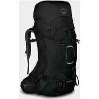 Osprey Aether Ii 55 Litre Rucksack - Black/Black, Black/Black