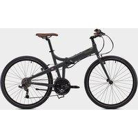 "BICKERTON Docklands 1824 Country Folding Bike 18"" - Grey/Black, Grey/Black"