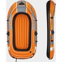 "Hydro Force 74"" Kondor 2000 Inflatable Boat Raft, Orange/Black"
