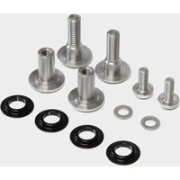 Calibre Bossnut & Triple B Rocker Link Hardware Kit, Silver/KIT