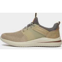 Skechers Men's Delson 3 Cicada Casual Shoes, Brown