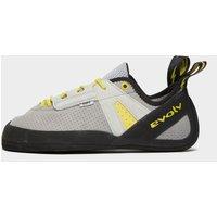 EVOLV Men's Defy Lace Climbing Shoe, Grey/Yellow