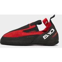 ADIDAS FIVE TEN Men's Niad Moccasym Climbing Shoes, Black/Red