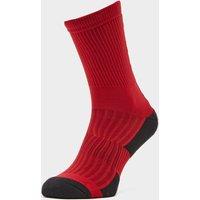 """Fox Men's 6"""" Ranger Cushion Socks - Red, Red"""