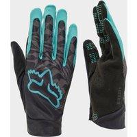 Fox Flexair Mountain Biking Gloves - Black/Blue, Black/Blue