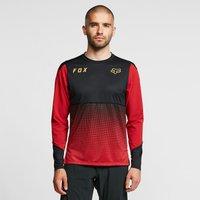 Fox Men's Flexair Long-sleeve Jersey, Red