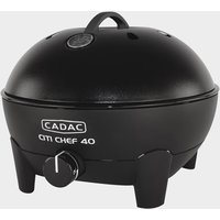 Cadac Citi Chef 40 Table Top Gas Bbq - Black, Black