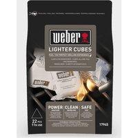 Weber Lighter Cubes, Black