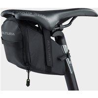 Altura Night Vision Road Saddle Bag Large - Black/Black, Black/Black