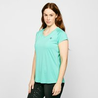 Aubrion Women's Elverson Tech T-Shirt - Blue/Aqua, Blue/AQUA
