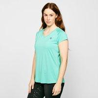 Aubrion Women's Elverson Tech T-Shirt - Blue, Blue
