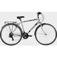 "Barracuda Men's Vela 2 21"" Trekking Bike - Silver-Silver, silver-silver"