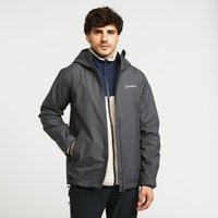 Berghaus Mens Stormcloud Waterproof Jacket  Grey