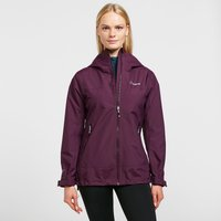 Berghaus Womens Stormcloud Prime Waterproof Jacket, Purple