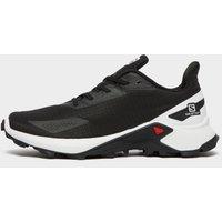 Salomon Men's Alphacross Blast Trail Running Shoe, Black/White